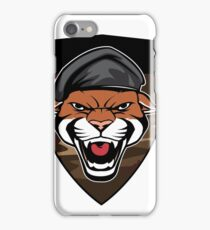 Puma Head military emblem iPhone Case/Skin