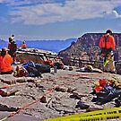 Even the Grand Canyon needs maintenance! by Nancy Richard