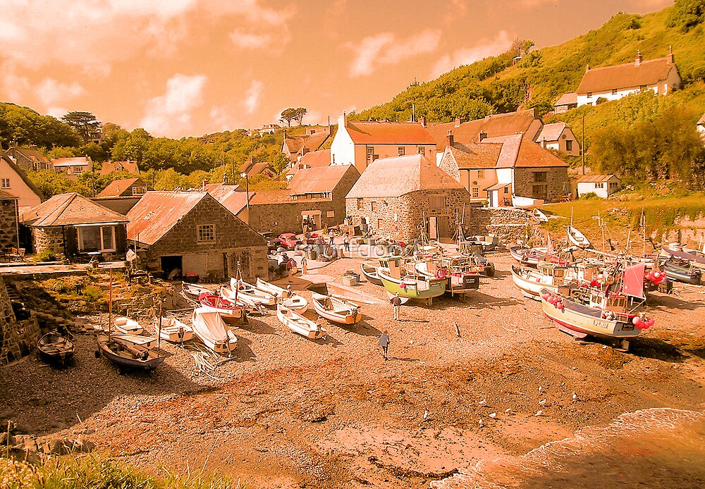 A Warm take on Cadgwith by snurfdood