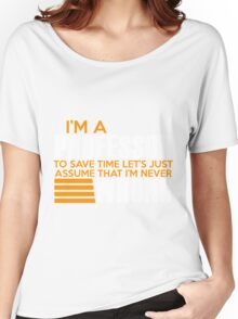Im A Professor - Teacher Women's Relaxed Fit T-Shirt