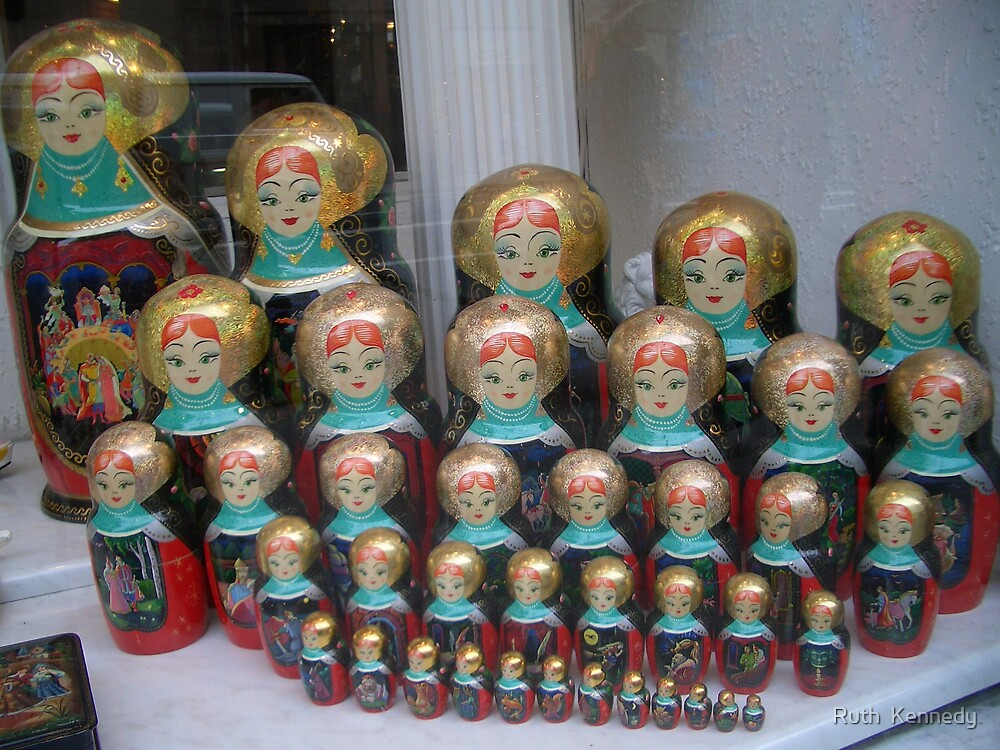 Russian Dolls by Ruth  Kennedy