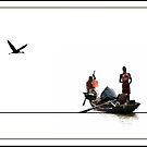 The Boat 2 by Kaushik Chatterjee