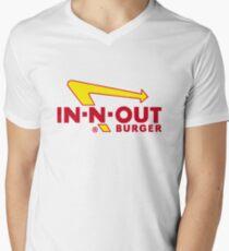 In Out Burger Merchandise Men's V-Neck T-Shirt