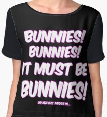 It must be bunnies Women's Chiffon Top