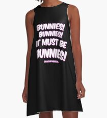 It must be bunnies A-Line Dress
