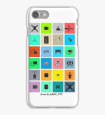 FPV Icons iPhone Case/Skin
