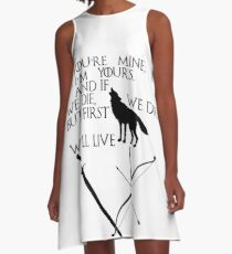 Game of Thrones - Jon Snow and Ygritte A-Line Dress