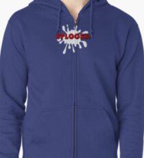 Sploosh!  Zipped Hoodie