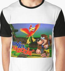 N64 Banjo-Kazooie Graphic T-Shirt
