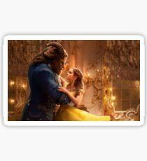 Beauty and the Beast Movie Art Sticker