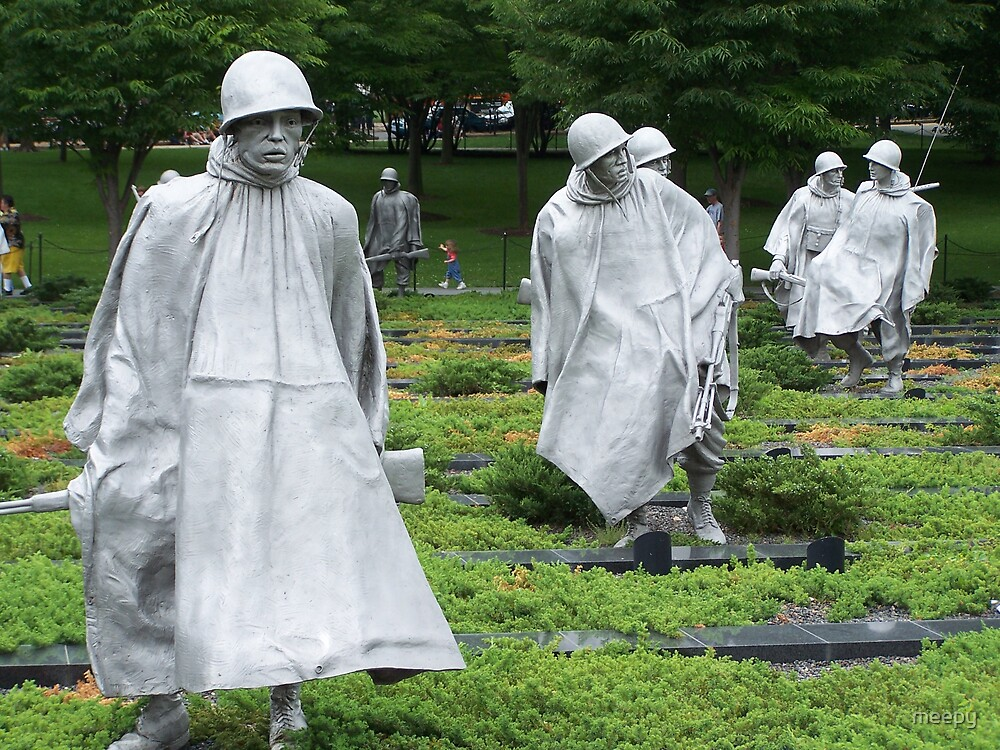 Korean War Memorial by meepy