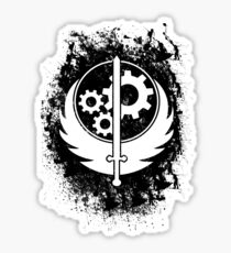 Brother hood of steel T-shirt Sticker