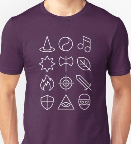 Class - Dungeons & Dragons Line Art Series T-Shirt