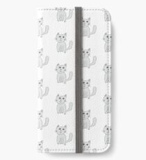 George The Fluffy Cat iPhone Wallet/Case/Skin
