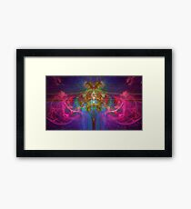 Psychedelic Energy Framed Print