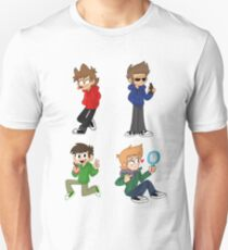 Three Brits and a Norwegian (Eddsworld) T-Shirt