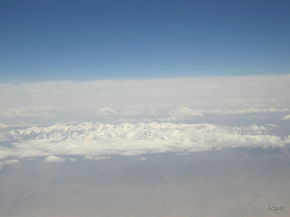 Greenland from above by sxpnz