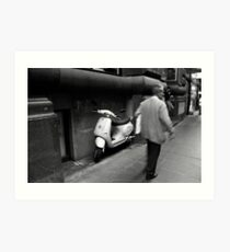 Flinders Lane Art Print