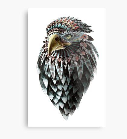 Mythical Eagle Shaman  Metal Print