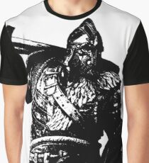 Weathered Warlord For Honor Graphic T-Shirt