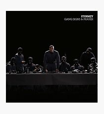 Stormzy Gang signs and prayer Photographic Print