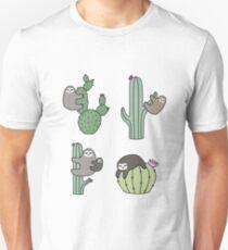 Cacti Sloths T-Shirt