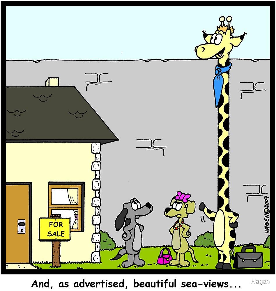 Real Estate for Giraffes by Hagen