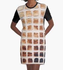 Toast Graphic T-Shirt Dress