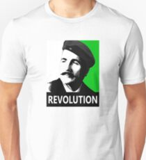 Allama Iqbal Revolution - Pop Art Portrait T-Shirt