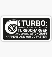 Turbo Witchcraft - Jeremy Clarkson Sticker