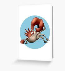 099 - Pincer Monster Greeting Card
