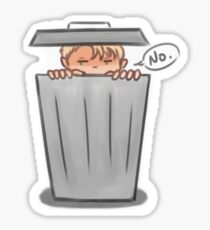 Andrew the grouch Sticker