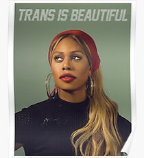trans is beut Poster