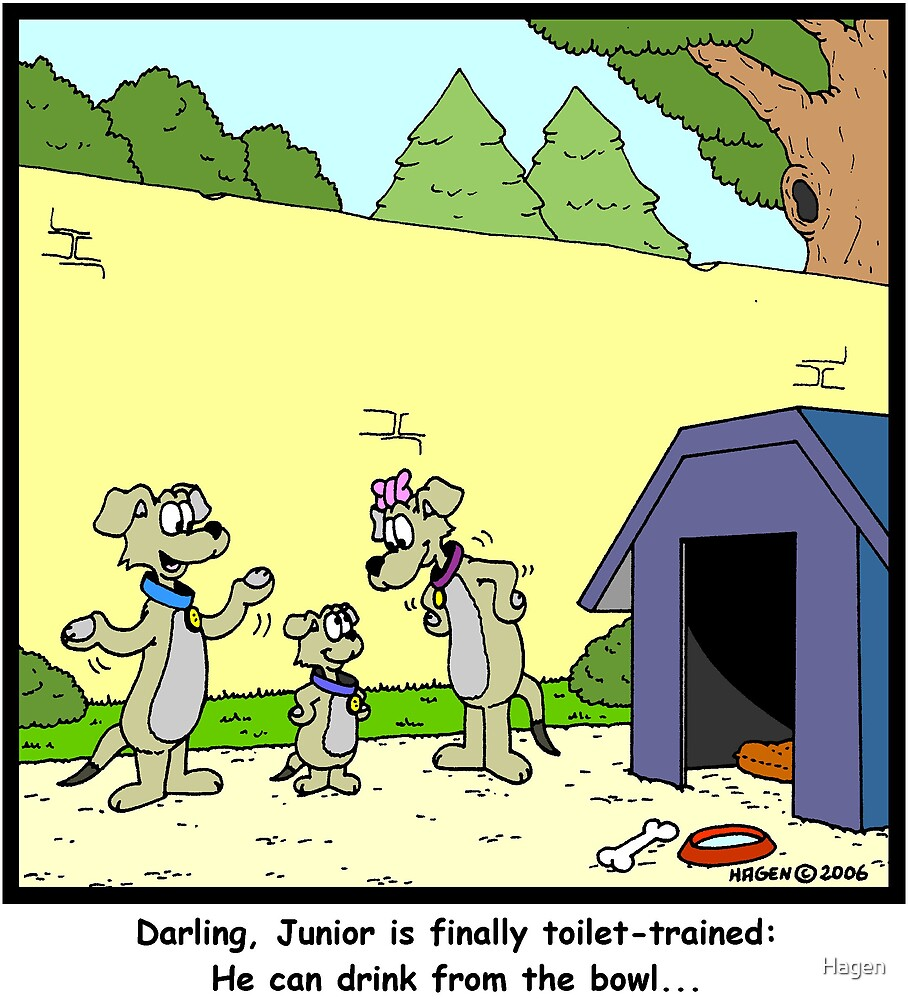 Toilet-trained by Hagen
