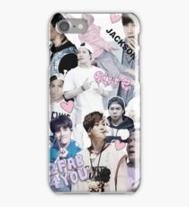 Jackson Wang Collage iPhone Case/Skin