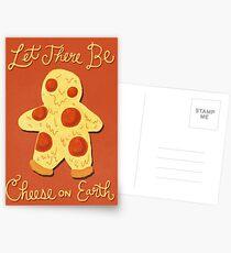 Käse auf der Erde Postkarten