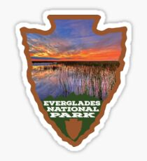 Everglades National Park arrowhead Sticker