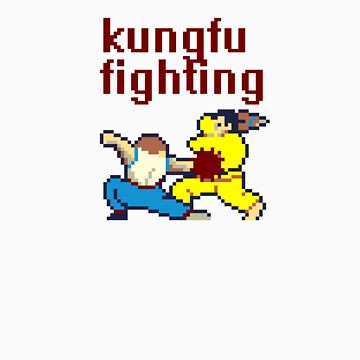 kungfu fighting by troy
