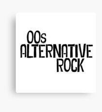 00s Alternative Rock Canvas Print