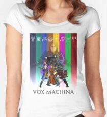 Camiseta entallada de cuello ancho Vox Machina Assemble