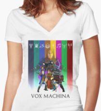 Vox Machina Assemble Women's Fitted V-Neck T-Shirt