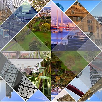 Melbourne The World's Most Livable City Collage by beverlyclaire