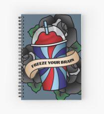 Friere dein Gehirn ein Spiralblock