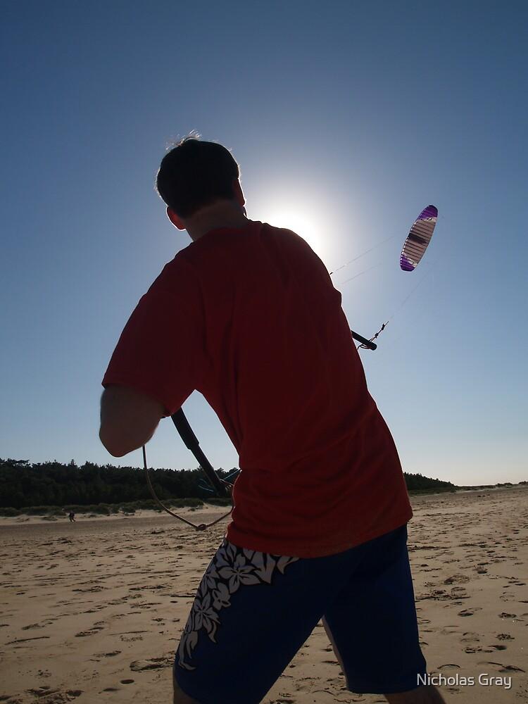 Kite Flying by Nicholas Gray