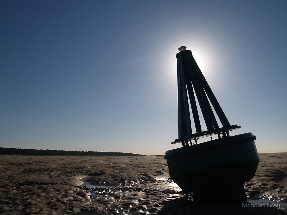 Wells Bouy by Nicholas Gray