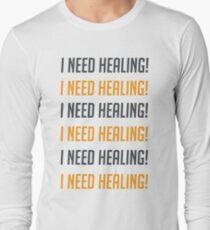 i need healing! Long Sleeve T-Shirt