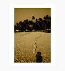Tsunami - one year anniversary Art Print