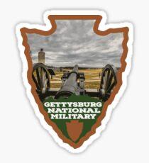 Gettysburg National Military Park arrowhead Sticker