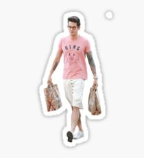 john mayer just looking really good with groceries Sticker