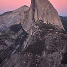 Dusk Falls on Half Dome by Alan Brazzel